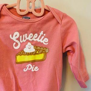 5/$20 Sweetie Pie / Onesie